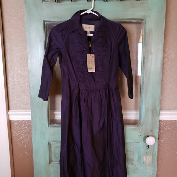 Burberry Dresses Dress Womens Purple Poshmark